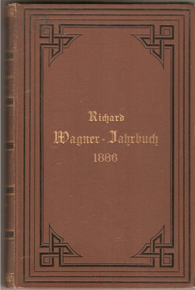 Image for Richard Wagner - Jahrbuch. 1886