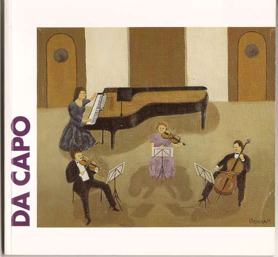 Image for Da Capo - An Informal History of the Belfast Music Society, 1921-1996