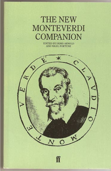 Image for The New Monteverdi Companion