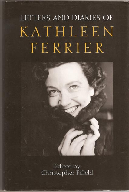 Image for Letters and Diaries of Kathleen Ferrier