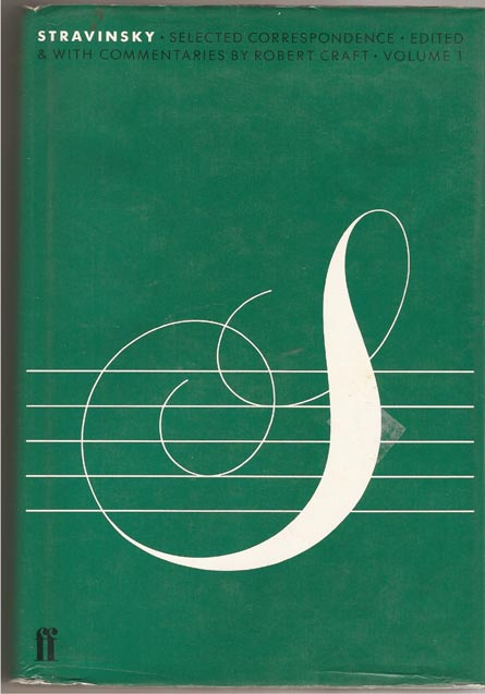 Image for Stravinsky. Selected Correspondence: Vol. 1
