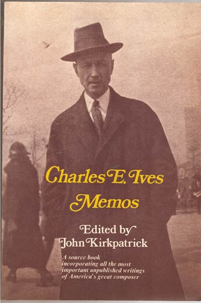 Image for Charles Ives: Memos