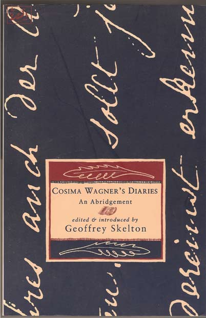 Image for Cosima Wagner's Diaries: An Abridgement