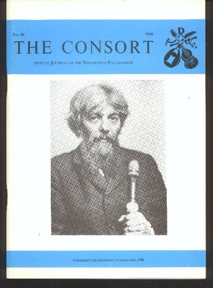 Image for The Consort: Annual Journal of the Dolmetsch Foundation Number 46 1990
