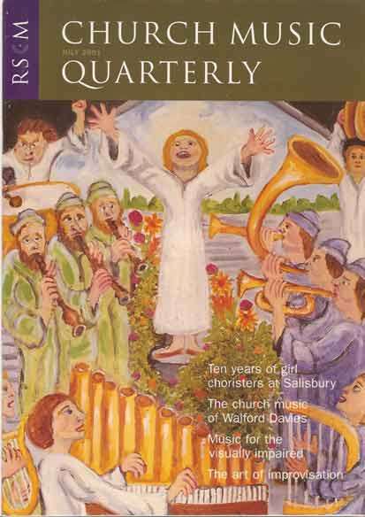 Image for Church Music Quarterly