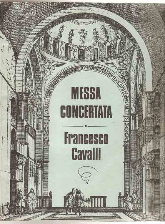 Image for Messa Concertata. Mass for Double Chorus, Eight Solo Voices and Orchestra. Realized by Raymond Leppard.