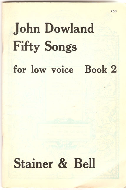 Image for Fifty Songs for Low Voice. Book 2. Selected and Edited by Edmund H Fellowes with Revisions by David Scott
