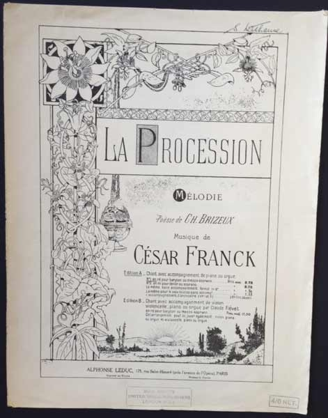 Image for La Procession