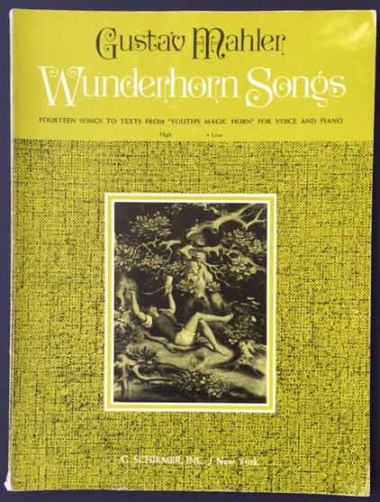 "Image for Wunderhorn Songs - Fourteen Songs to Texts from ""Youth's Magic Horn"" for Voice and Piano"