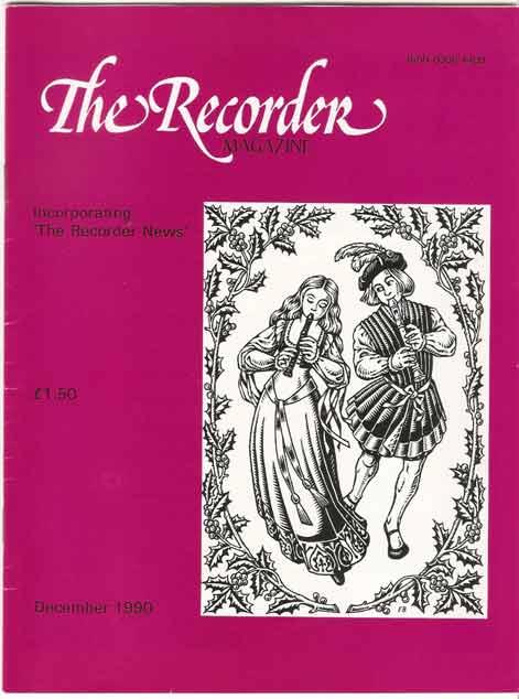 The Recorder Magazine Volume 10