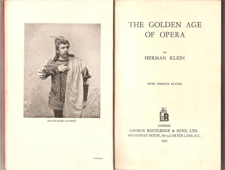 Image for The Golden Age of Opera