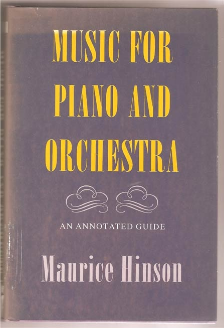 Image for Music for Piano and Orchestra. An Annotated Guide