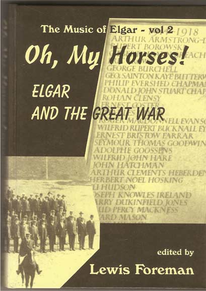 Image for Oh, My Horses! Elgar & the Great War