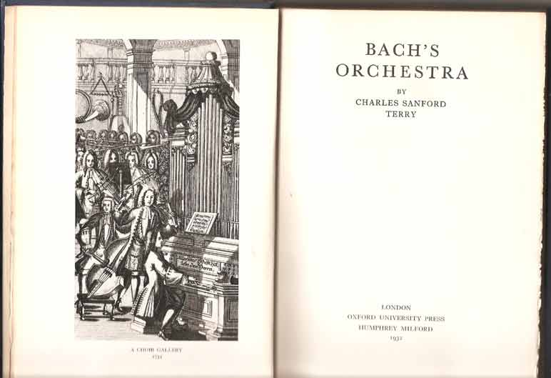 Image for Bach's Orchestra
