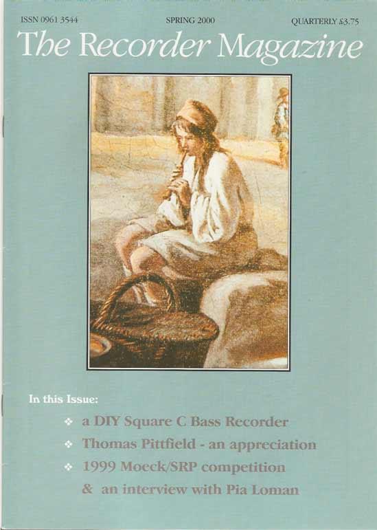 The Recorder Magazine Volume 20