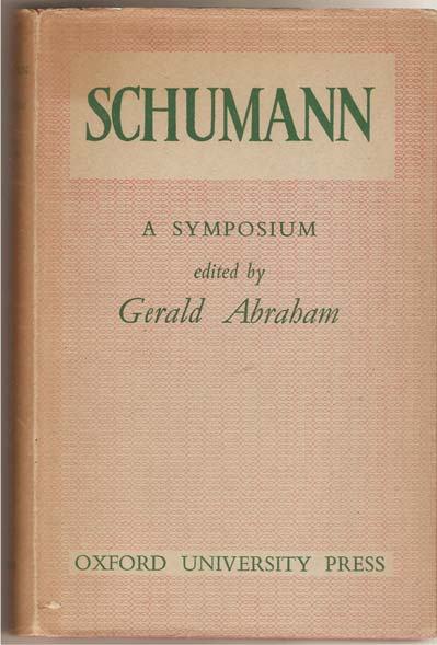 Image for Schumann: A Symposium