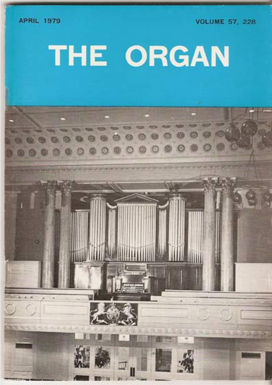 Image for The Organ: A Quarterly Review. Vol 57