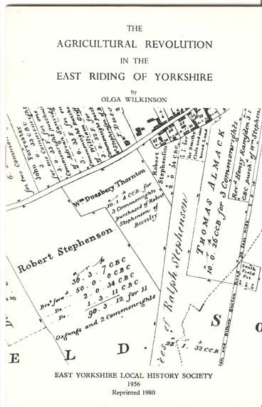 Image for The Agricultural Revolution in the East Riding of Yorkshire