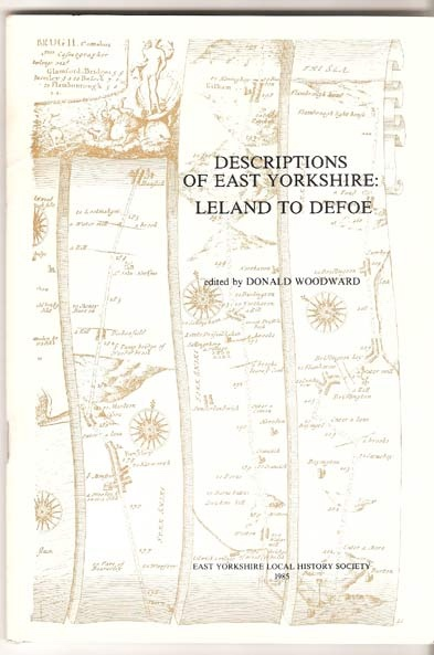 Image for Descriptions of East Yorkshire - Leland to Defoe.
