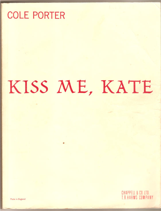 Image for Kiss Me, Kate