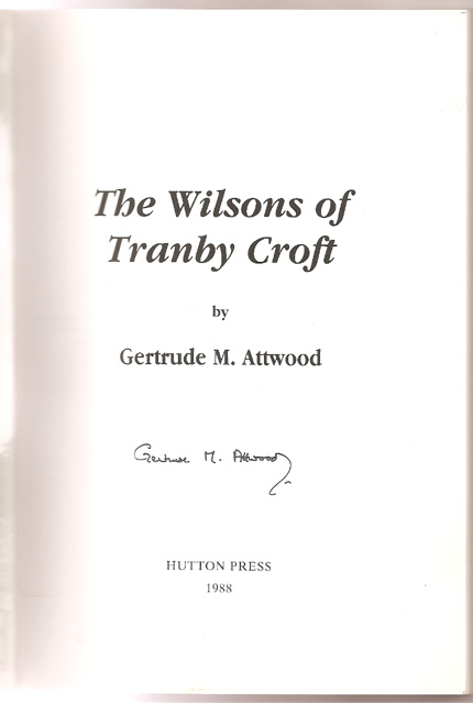 Image for The Wilsons of Tranby Croft