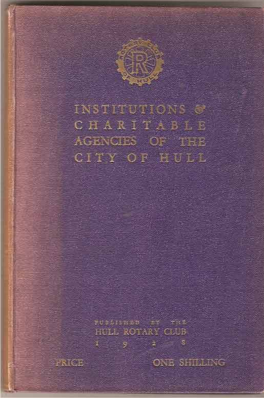 Image for Institutions & Charitable Agencies of the City of Hull