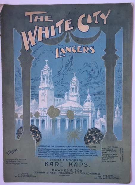 Image for The White City - Lancers - Piano Solo