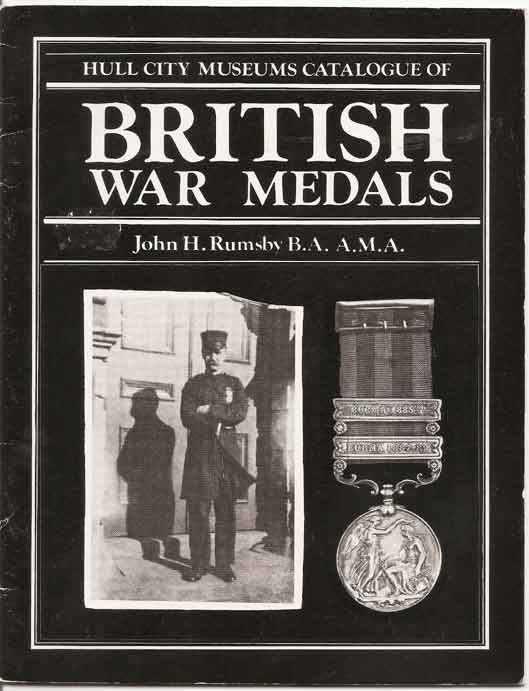 Image for Hull City Museums Catalogue of British War Medals.