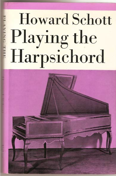 Image for Playing the Harpsichord