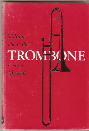 Image for Talking about the Trombone