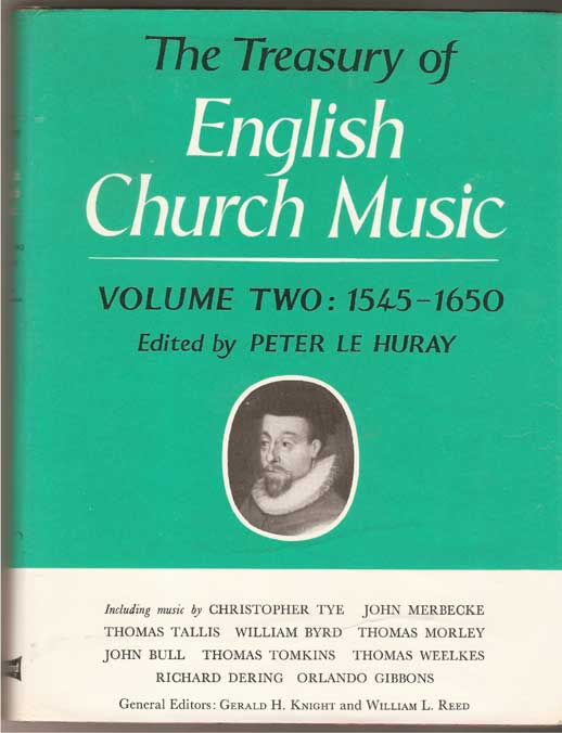 Image for The Treasury of English Church Music  1545 - 1650  Volume 2