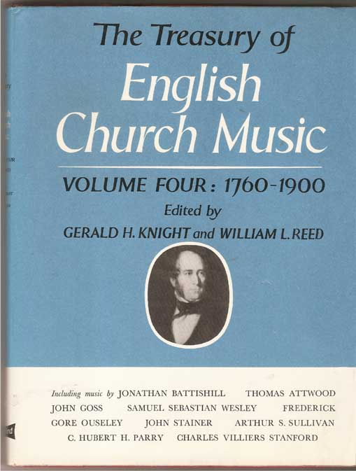 Image for The Treasury of English Church Music 1760-1900 Volume 4