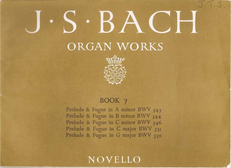 Image for Organ Works. Vol. 7 - Preludes and Fugues
