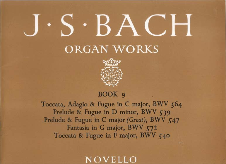 Image for Organ Works - Book 9 - Preludes and Fugues