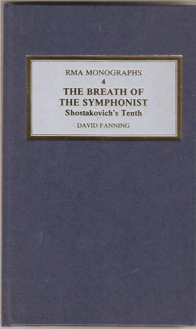 Image for The Breath of the Symphonist - Shostakovich's Tenth