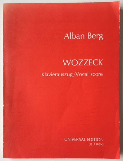 Image for Wozzeck - Klavierauszug / Vocal Score Edited by Fritz Heinrich Klein