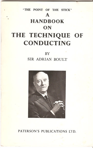 Image for Handbook on the Technique of Conducting