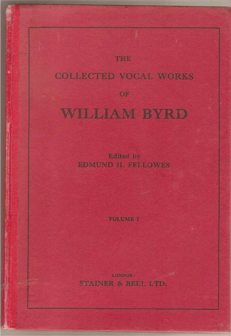 Image for The Collected Vocal Works of William Byrd. Volume 1