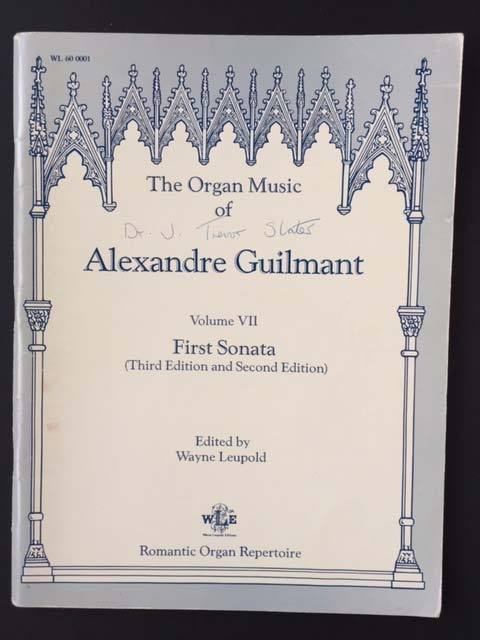 Image for The Organ Music of Alexandre Guilmant, Vol. 7, Sonata 1