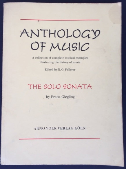 Image for The Solo Sonata
