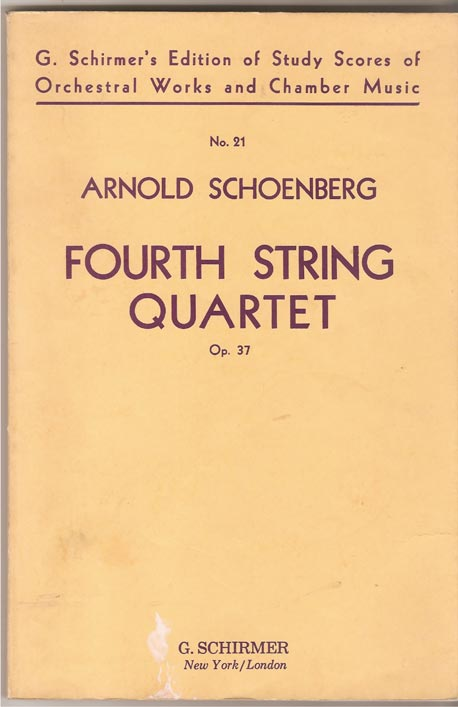 Image for Fourth String Quartet, Op. 37