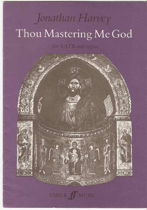 Image for Thou Mastering Me God: SATB and Organ