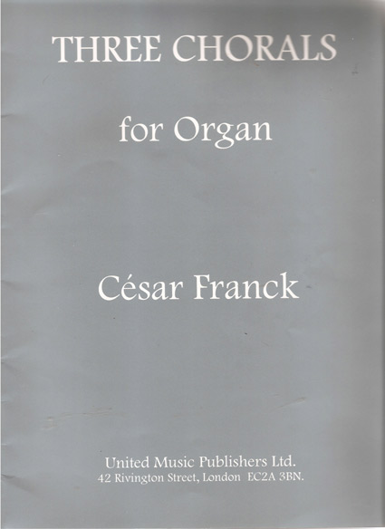 Image for Three Chorals for Organ