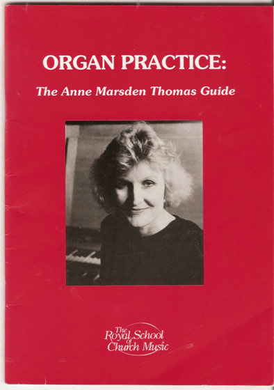 Image for Organ Practice - the Anne Marsden Thomas Guide