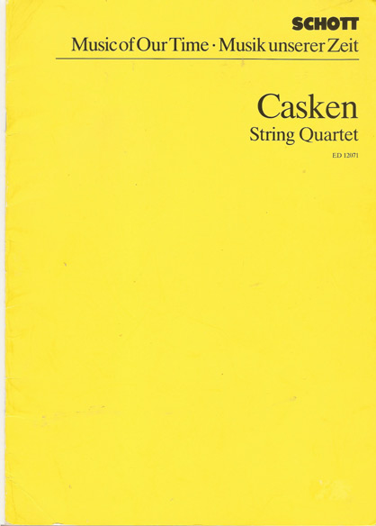 Image for String Quartet (1981)