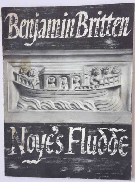 Image for Noye's Fludde. the Chester Miracle Play. Op 59