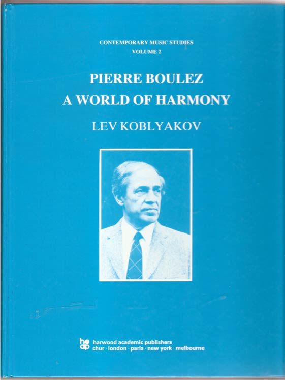 Image for Pierre Boulez. A World of Harmony