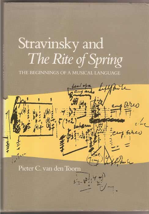 "Image for Stravinsky and the ""Rite of Spring"" the Beginnings of a Musical Language"