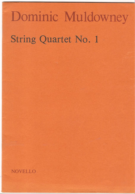 Image for String Quartet No.1