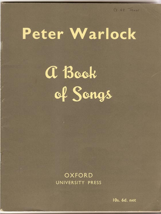Image for A Book of Songs.